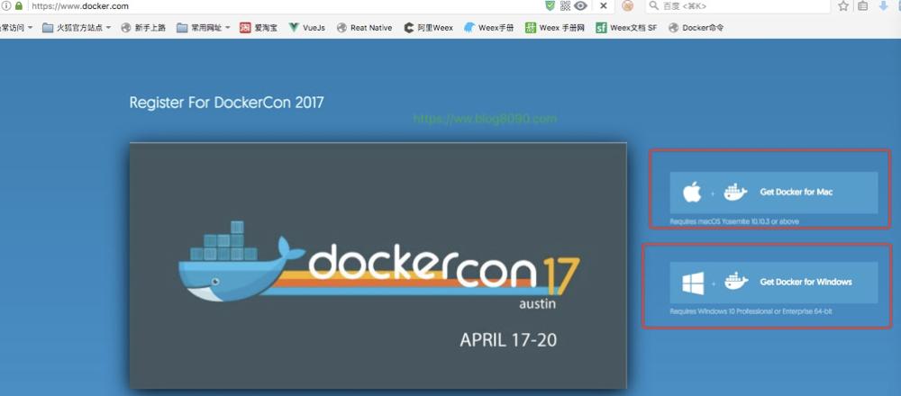 Docker 官网